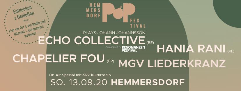 Hemmersdorf Pop Festival avec SR2 Kulturradio